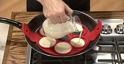 Molde de silicona para tortitas - Moldes para panqueques ...
