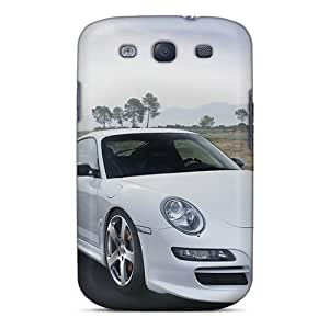 Awesome Cases Covers/galaxy S3 Defender Cases Covers(porsche Mansory White)