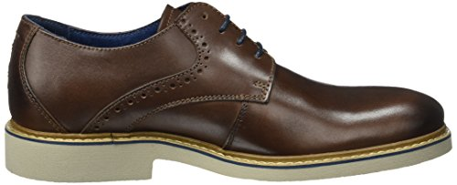 camel active Casino 11, Scarpe Stringate Uomo Marrone (Brandy 01)