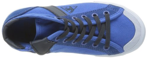 Olympian Le Saint Mid Coq Sportif enfant Malo Baskets Cotton mixte Bleu Pique mode Ps Blue rTrOwqEd