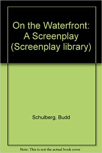 on the waterfront a screenplay screenplay library