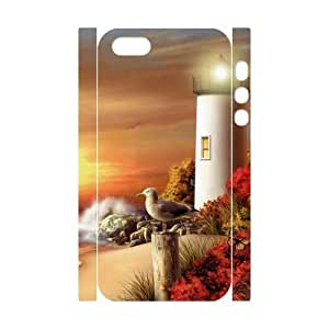 Lighthouse Phone Case For iPhone 5,5S [Pattern-1]