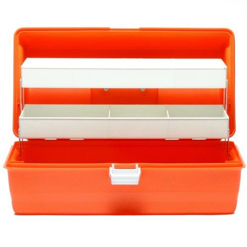Flambeau Orange Medical Box First Aid Small Empty