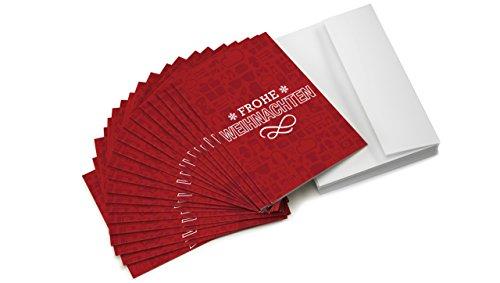 Amazon.de Grußkarte mit Geschenkgutschein - 20 Karten zu je 10 EUR (Weihnachten)