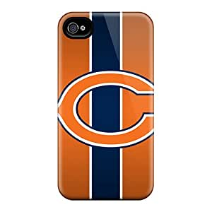 New Style Case Cover PWA1444EGkC Chicago Bears Compatible With Iphone 4/4s Protection Case