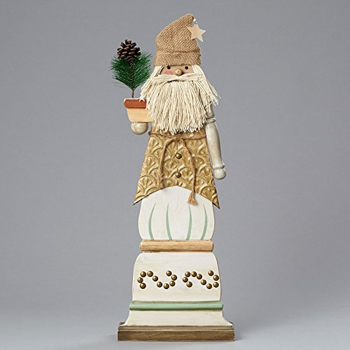 Santa Mixed Media Figurine