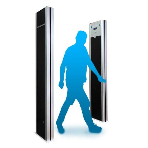 Single Wall 10 Zone Walk-Through Metal Detector,Metal Detector Door Frame,Door Sensor,Detector Sensor,Airport Baggage Scanner Safety,Metro and Train Station Checkpoint Detector