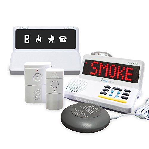 Sonic Alert HomeAware Fire Safety Value - Value Package