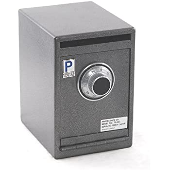 Protex Safes Large Heavy Duty Mechanical Drop Box Drop