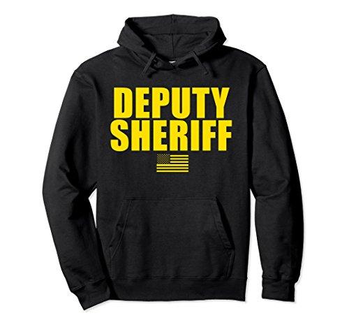 Unisex Deputy Sheriff Uniform Hoodie 2XL Black