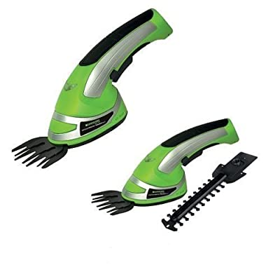 Premium Cordless 2-in-1 Grass Shrubs & Hedge Trimmer And Cutter - Battery Operated - 3 Years Free Guarantee! by supertvproducts14