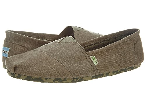 Toms Earthwise Classics Mens Style: 10001320-Grey Size: 8 M US