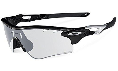 Oakley Men's Radarlock Path Shield Sunglasses, Polished Black, 138 - Radarlock Oakleys