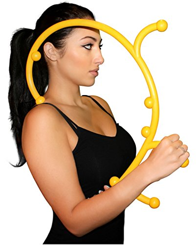 (Nayoya Back Hook Massager - Patented Self Massager)