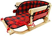 Steamridge Grizzly Sleigh with Plaid Pad