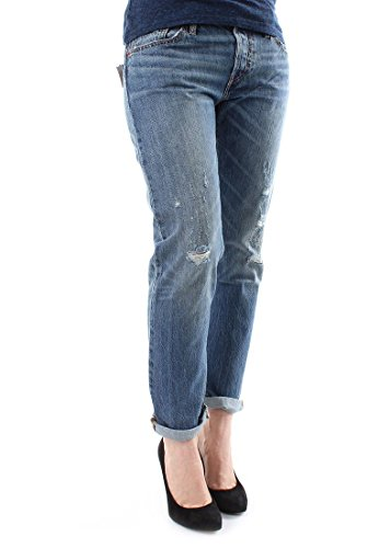 Para Mujer 501 Levi's Tapered Azul bebé Jeans PwFtqqT