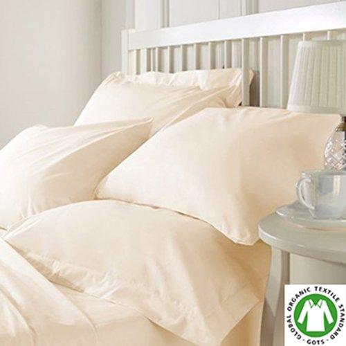 Organic Cotton Bed Sheet Set by Organic Textiles LLC, Premiu
