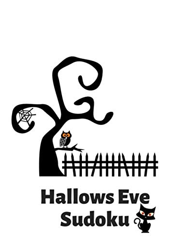 Spooky Font For Halloween - Hallow's Eve Sudoku: 100 Easy Puzzles