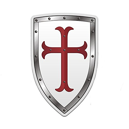 Knights Templar White Shield 3