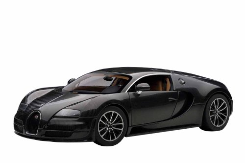 autoart 1 18 bugatti veyron super sports carbon black. Black Bedroom Furniture Sets. Home Design Ideas