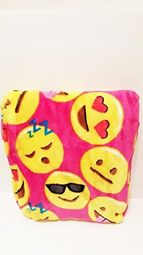 [Smiley Face Emoji Plush Throw Blanket Kids Plush Soft Toy Toddlers Teens Vary 50
