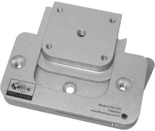 PiranhaLox 9-1010-3000 Surface Mount with Extended Lever and Universal Insert Block ()