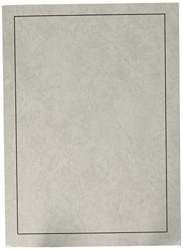Cardboard Photo Folder for a 5x7 Photo (Pack 0f 100) Light Gray