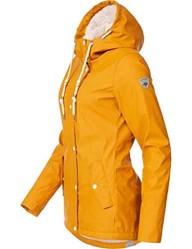 Parka Curry0818 XL Colores Marge de Ragwear Abrigo XS para 4 Invierno Mujer p6qxC