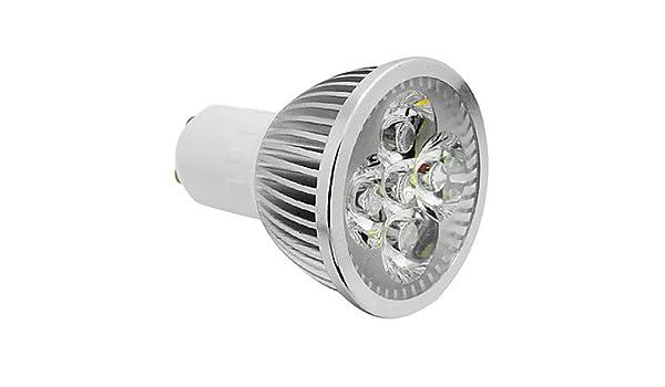 Bombilla Led GU10 10 W 6000 K luz blanca cálida alta potencia Led Bombilla No regulable, 110v, gu10, 10.0 wattsW: Amazon.es: Iluminación