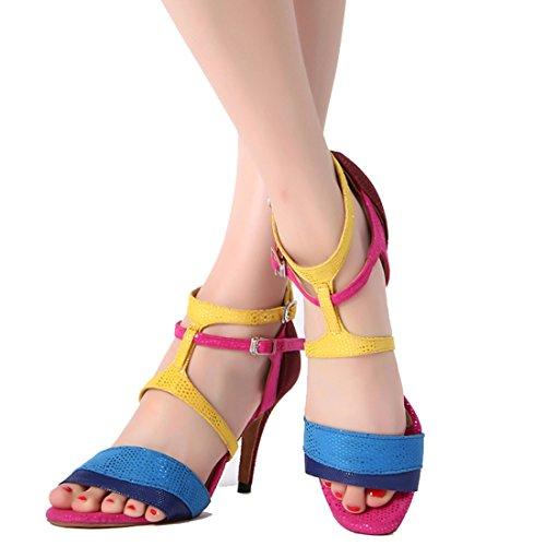 Donna Multicolor 5cm Jazz Moderno Joymod Heel 8 e MGM XRpqU