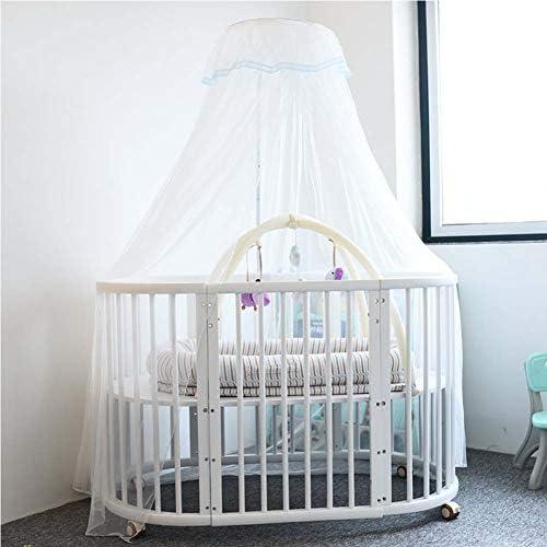 mois/és para cama//tumbona para dormir Cama port/átil para beb/é con mosquitera cuna de algod/ón transpirable cuna de beb/é reci/én nacido 90 x 50 cm