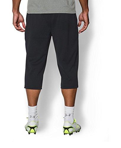 Under Armour Hombre UA futbolista soccer190; Pantalones, M, Negro/Blanco Negro/Blanco