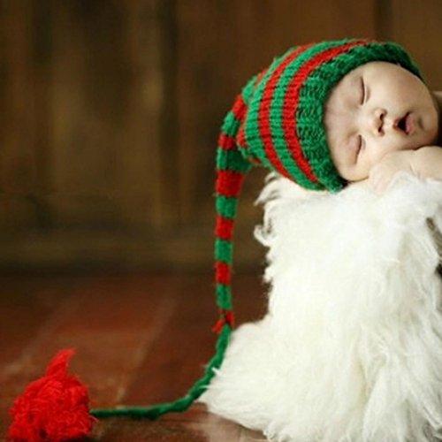 Tuscom Newborn Baby Cute Long Tail Cap Knit Hat Costume Photography Prop Dark Blue(1-3 Months (Halloween Costumes 3-4 Years Uk)