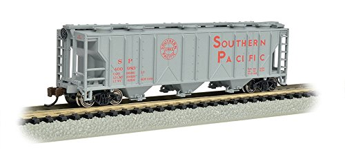 - Bachmann Industries PS-2 Southern Pacific Three-Bay Covered Hopper Vehicle (N Scale)