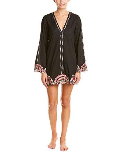 PilyQ Women's Rowen Dress Cover up, Mandala, X-Small/Small