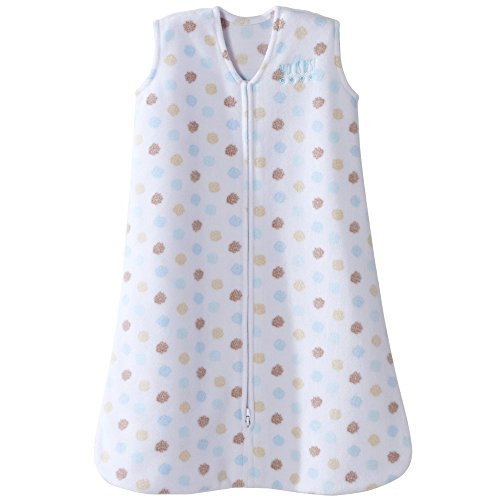 Halo Sleepsack Microfleece Wearable Baby Blanket, Starburst Sprinkle, Small by Halo