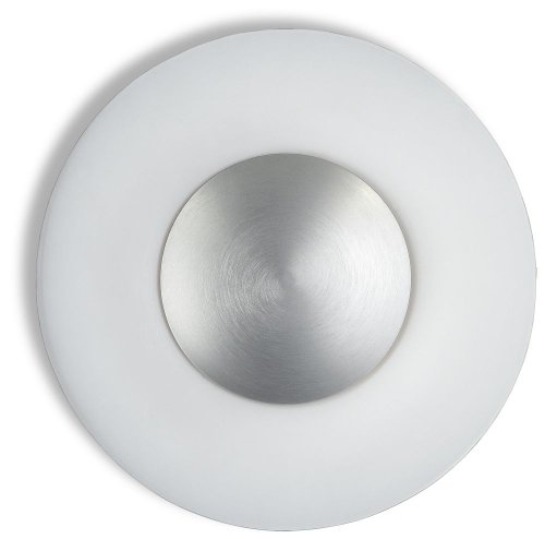 Philips 34613/48/48 Ecomoods Energy Efficient Wall or Ceiling Light, Aluminum