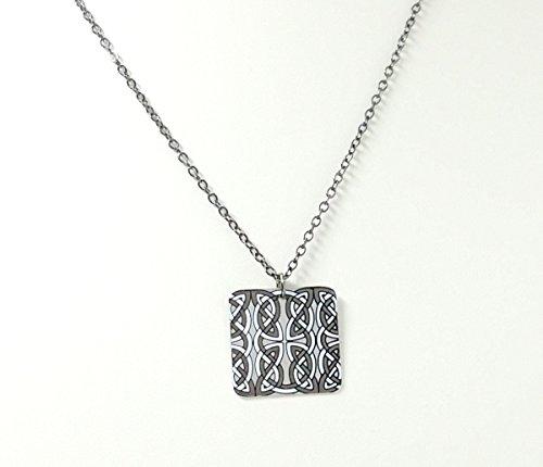 Celtic Knot Carbon Steel Pendant (Knot Carbon)