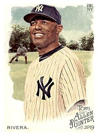 2019 Topps Allen Ginter 136 Mariano Rivera New York Yankees Baseball Card