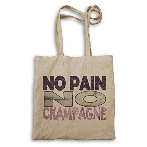 Kein Schmerz Kein Champagnerspaß Tragetasche r897r