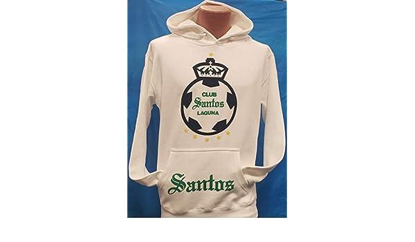Amazon.com : New! Santos Laguna Hoodie Sudadera con Gorro Liga MX Size 2XLarge : Sports & Outdoors