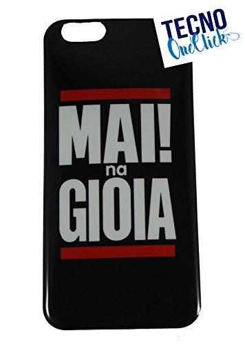 Cover iPhone 5/5S MAI na GIOIA NERA TPU Clear Morbida Trasparente Case ALTA QUALITA TecnoOneClick®