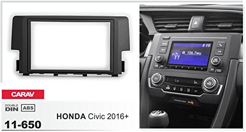 Campervan 11 650 Double Din Car Stereo Fascia In