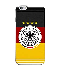 ColorKing Football Germany 15 Multicolor shell case cover for Apple iphone 6 Plus / 6s Plus