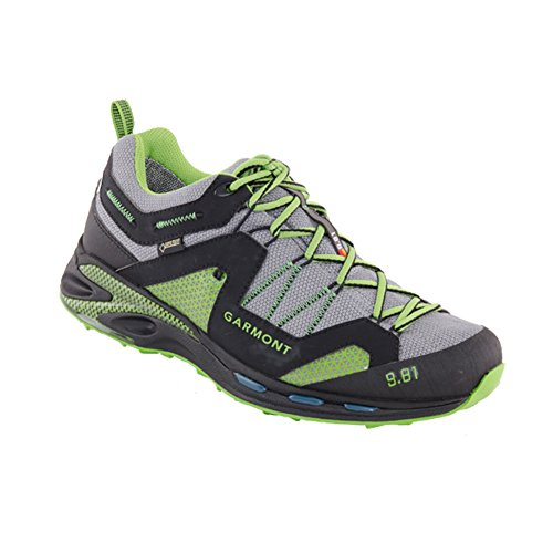 Garmont Men's 9.81 Trail Pro III GTX Lightweight Hiking Shoe, Size 9.5 Black/Green