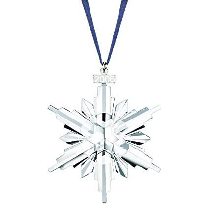 Image Unavailable. Image not available for. Color: Swarovski 2006 Annual  Snowflake / Star Christmas Ornament - Amazon.com: Swarovski 2006 Annual Snowflake / Star Christmas