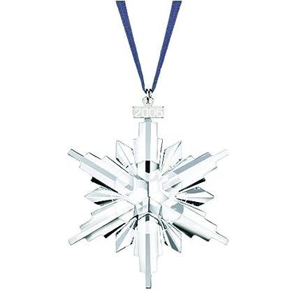 Swarovski 2006 Annual Snowflake / Star Christmas Ornament - Amazon.com: Swarovski 2006 Annual Snowflake / Star Christmas