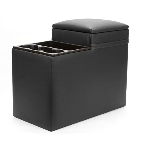 Classic Saddlebag Consoles - Black Full Size Van Console - Fits most fullsize vans and big rigs.