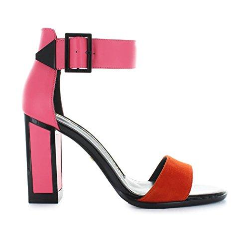 Tacco PE18 Pink Kat Joan 10 Leather Azalea Scarpe Maconie Pink Donna Tangerine wPqwZnv8