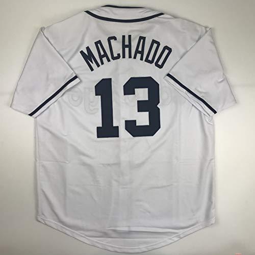 Unsigned Manny Machado San Diego White Custom Stitched Baseball Jersey Size Men's XL New No Brands/Logos